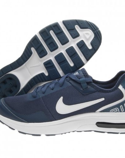 Scarpe Nike Air Max LB Junior (GS) – Blu Navy Bianco – AA3507-400 2eec39ad096f