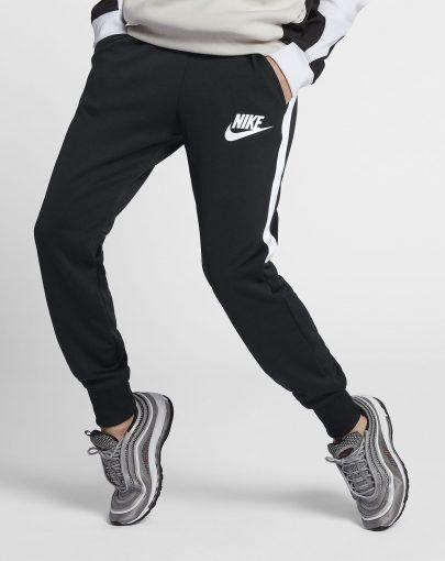 25be272a9f Giacca Nike Sportwear N98 Donna - Nero Bianco - 912879-010 ...