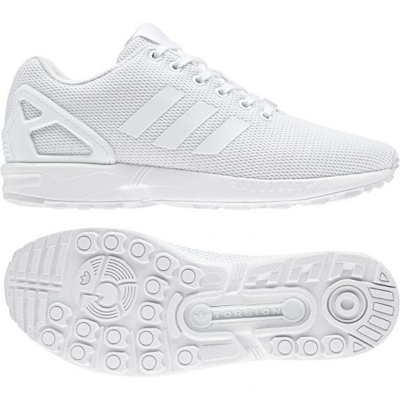 designer fashion 04c8a 61f53 Scarpe Adidas Original Uomo – Zx Flux – Bianco – S32277